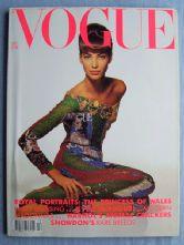 Vogue Magazine - 1990 - December